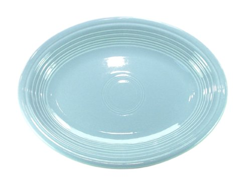 Homer Laughlin China Fiesta Periwinkle Blue Oval Platter 11 5/8