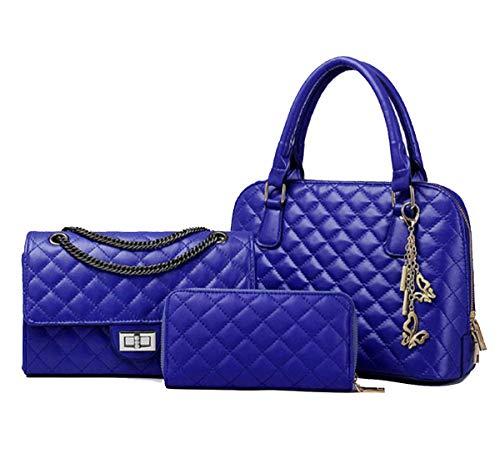 Azul Al Large Koon Mujer Negro Para Bolso Hombro BqYwq50