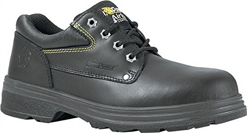 Zapatos De Seguridad En20345 S3 Src Mustang Gr. 43 Piel Lisa Tapa De Plástico Negro
