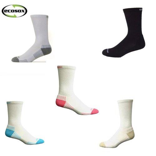 Sport Socks Bamboo Crew Set of 5, Medium