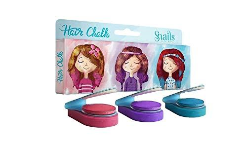 Snails Temporary Hair Chalk Color (Set of 3 Colors - Blue, Pink, Purple)