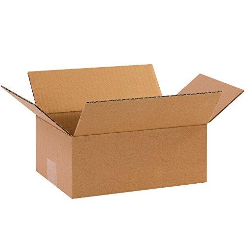 BOX USA B1074100PK Corrugated Boxes, 10