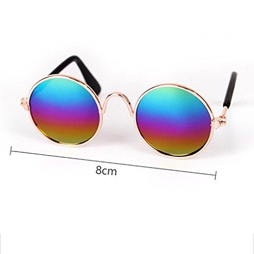Pet Cat Dog Sunglasses, Limsea Pet Cat Dog Fashion Sunglasses UV Sun Glasses Eye Protection Wear (Multicolor)