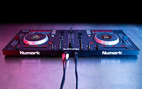 Numark Mixtrack Platinum | 4-channel DJ Controller With 4-deck Layering and Hi-Res Display for Serato DJ