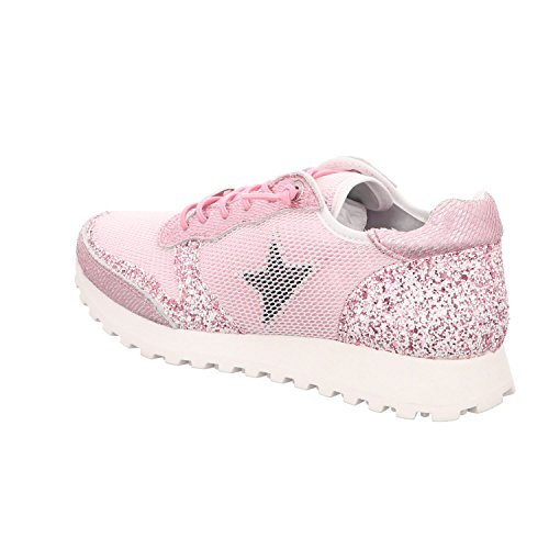 Cetti C1130 Sra - Damen Schuhe Sneaker - Snow-plata Sneeuw Rosa