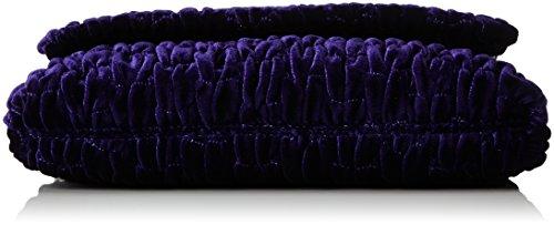 Love Moschino Damen Borsa Fabric Viola Umhängetasche, Violett (Violet), 17x28x5 cm