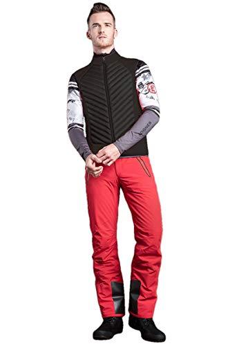 EM-EL Bogner Sport Men's Owen Black Powerstretch Vest (Bogner Sport)