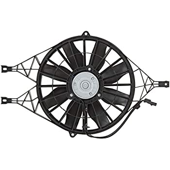Amazon Com Spectra Premium Cf13013 Engine Cooling Fan Assembly