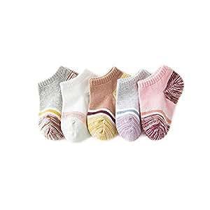Five pairs of set children's socks baby ankle soft socks baby cotton socks