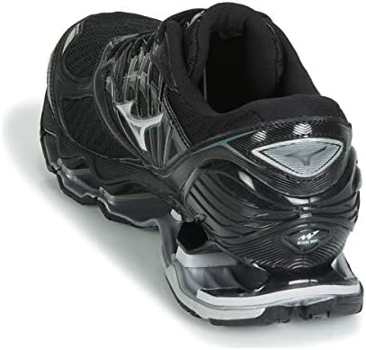 Mizuno Wave Prophecy 8 Negro Plata J1GC1900 04: Amazon.es ...