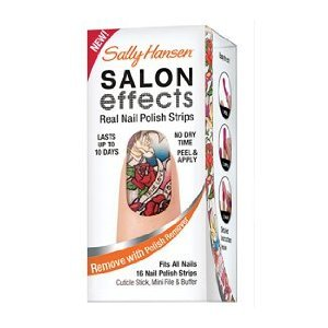 Sally Hansen Salon Effects Real Nail Polish Strips, Tattoo Much, 16 Count