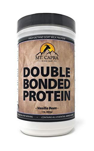 MT. CAPRA SINCE 1928 Double Bonded Protein – Vanilla Bean – 1 Lb, 1 Pound