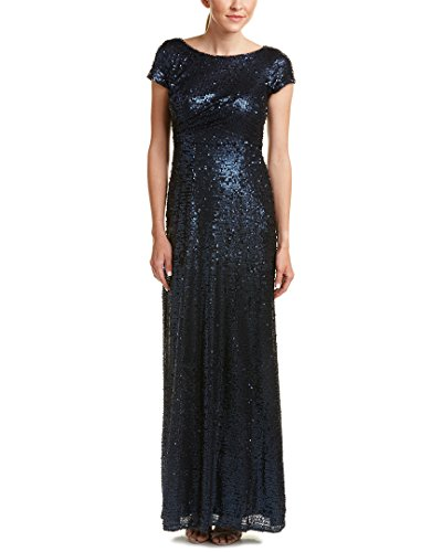 Adrianna Papell Womens Sleeve Sequin