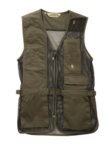 Bob-Allen 30197 240M Shooting Vest, Right Handed, Sage, Large