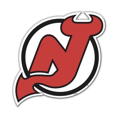 Jersey Car Magnet - Fremont Die NHL New Jersey Devils Vinyl Magnet (12-Inch)