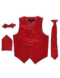 Vittorino Little Boys' 4-Piece Vest & Accessories Set