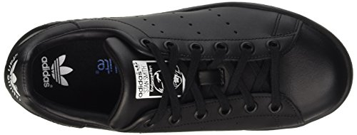 Sneaker Adidas Originali Stan Smith J Nero Nero