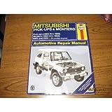Haynes Mitsubishi Pickup and Montero, 1983-95, Haynes Publications Staff, 1563921537