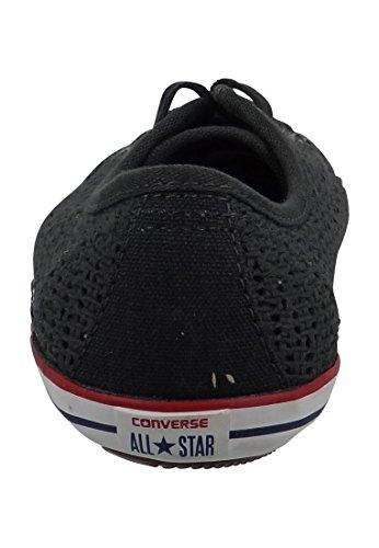 Mandriles conversar Dainty 551890C All Star Light 2 Negro Casi Negro Blanco Granate Antracita / Blanco