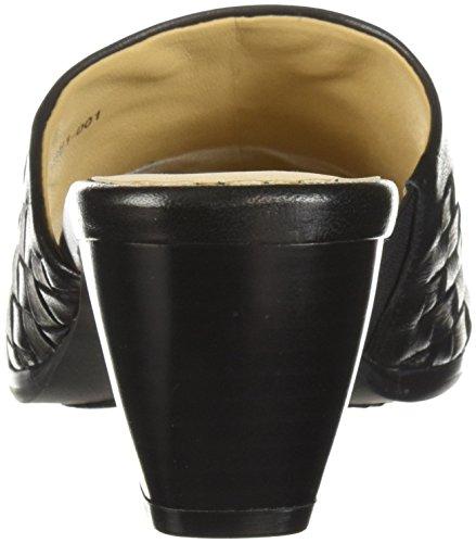 Trotters Corsa Black Sandales Femmes Talon À wwrP8qv