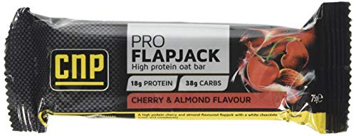 CNP Professional Pro-Flapjacks Cherry Almond Bars (24x75g)