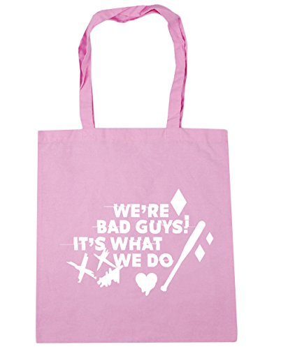 Harley 42cm litres HippoWarehouse We Shopping Tote We're Bad Quote It's What Do Gym x38cm 10 Pink Classic Beach Guys Bag xqq0X6rT