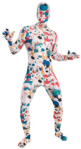 Painter Halloween Costume (Forum Novelties Men's Art Splatter Disappearing Man Costume, Multi, X-Large)