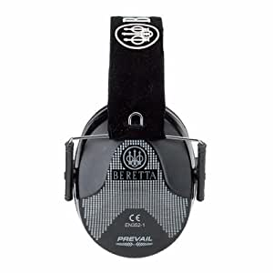 Amazon.com : Beretta Standard Earmuff (Black) : Hunting Earmuffs