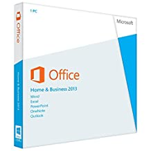 Microsoft Office 2013 Home and Business 32/64-bit - Complete Product - 1 PC, 1 User - Office Suite - PC - English