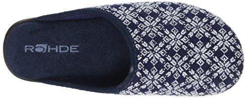 ... Rohde Damen 4310 Pantoffeln Blau (Ocean) ...