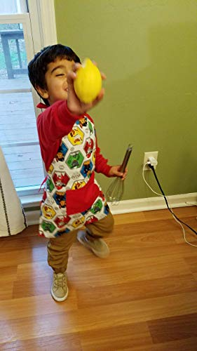 Reversible Paw Patrol and All America Themed Apron
