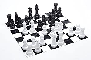 Junior Jumbo Chess with 4' x 4' Mat