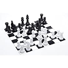Jumbo Chess with 4' x 4' Mat