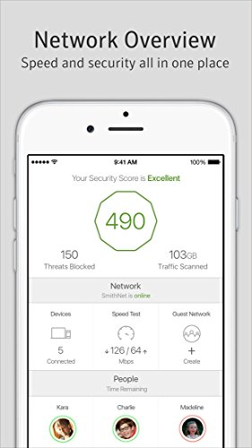Norton Router, 4x4 Protect Network and Controls, Works Free of Security