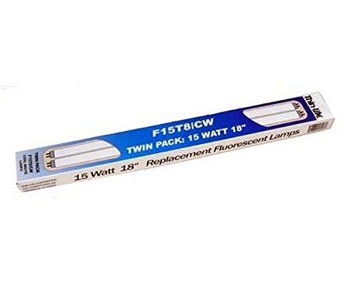 Thin-Lite RV Trailer 2Pk Fluorescent Bulb F15T8/Cw Multi Purpose Light - 15 Fluorescent White Chassis
