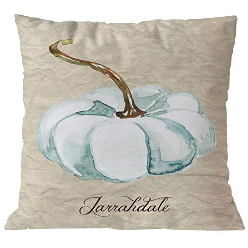 YOcheerful Halloween Pumpkin Cusion Cover Sofa Bed Car Decor Pillow Cover (B-H,45cm45cm)
