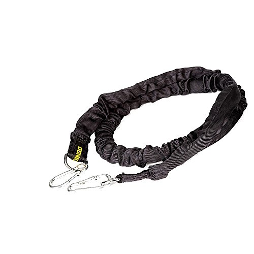 DINGO GEAR Shock Absorber Medium Pulling Handmade Damper 2 Meters Long with Stretch Length 0.80 Meters for Dog Twitch Training Must Have S03637