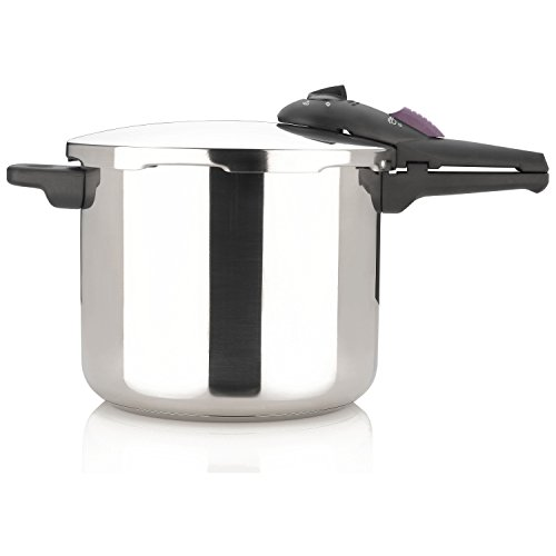 Fagor Splendid 10 Quart 15-PSI Pressure Cooker and Canner, Polished Stainless Steel - 918060812 by Fagor