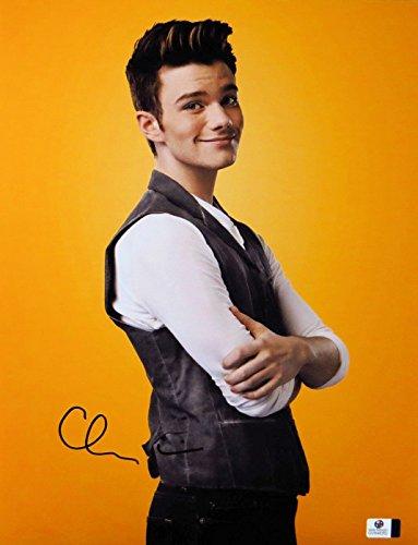 Hummel Gift (Chris Colfer Signed Autographed 11X14 Photo Glee Kurt Hummel GV848352)