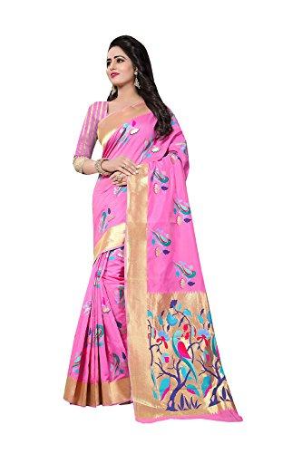 Indiani Tradizionale 98 Etnica Da Facioun Partito Le Rosa Nozze Di Indossare Per Progettista Sari Donne Sari BUEwqC