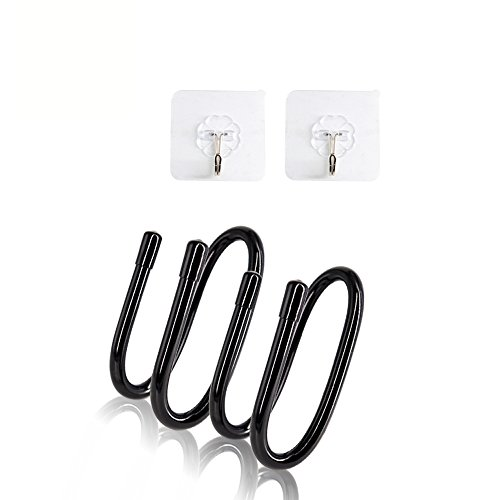 J&TOP Wall Hanger For Xbox One PS4 Switch Pro Controller-Pack of 2