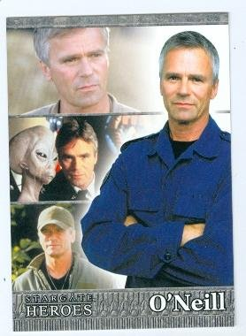 Richard Dean Anderson trading card Stargate SG-1 Heroes 2010 #3 Jack O Neill Autograph Warehouse