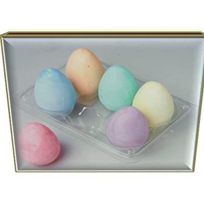 Party America Egg-Shaped Sidewalk Chalk: Toys & Games