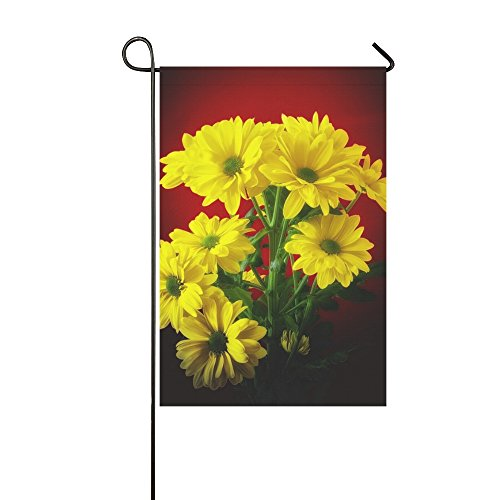 Home Decorative Outdoor Double Sided Flower Plant Nature Bright Bouquet Marguerite Garden Flag,house Yard Flag,garden Yard Decorations,seasonal Welcome Outdoor Flag 12 X 18 Inch Spring Summer Gift