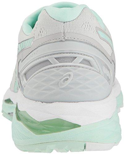 Asics Gel-Kayano 23de la mujer running Shoe Glacier Gray/Bay/White