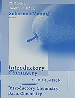 introductory chemistry student solution manual 6th edition by rh amazon com Zumdahl Chemistry 7th Edition Answers Zumdahl Chemistry 7E