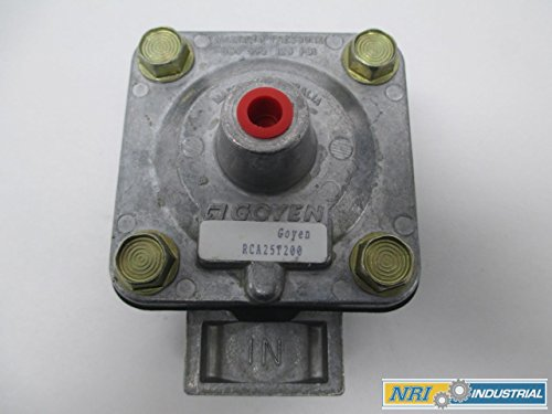 NEW GOYEN RCA25T200 125PSI THREADED 1IN NPT DIAPHRAGM VALVE D283375 by Goyen