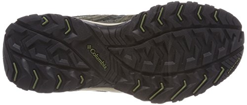 Columbia Canyon Point, Zapatillas de Senderismo Para Mujer Gris (Dark Moss, Zuc)