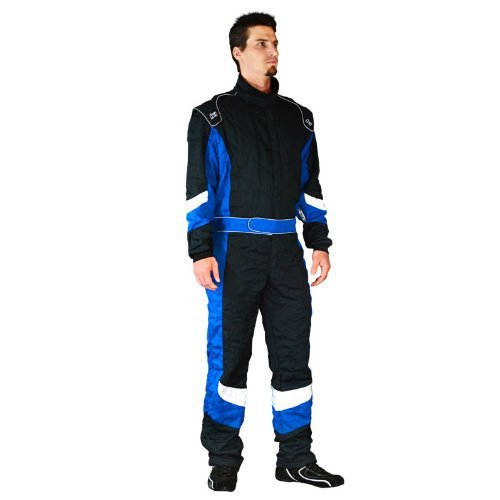 K1 Race Gear 20-PRE-R-3XL Precision Blue XXX-Large SFI Rated Auto Racing Nomex Fire Suit