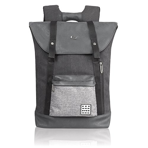 Express Laptop Tote Bag (Solo Urban Code 15.6 Inch Laptop Backpack, Black/Grey)